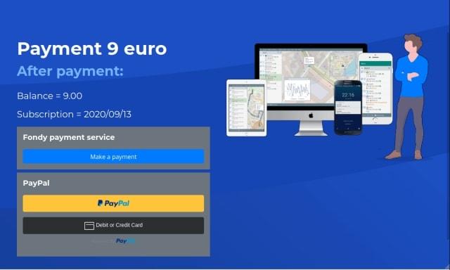 Fondy,PayPal
